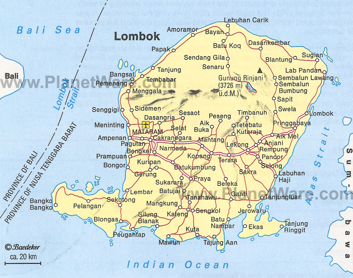 Lombok map for sale private property info lombokmap gumiabroncs Gallery